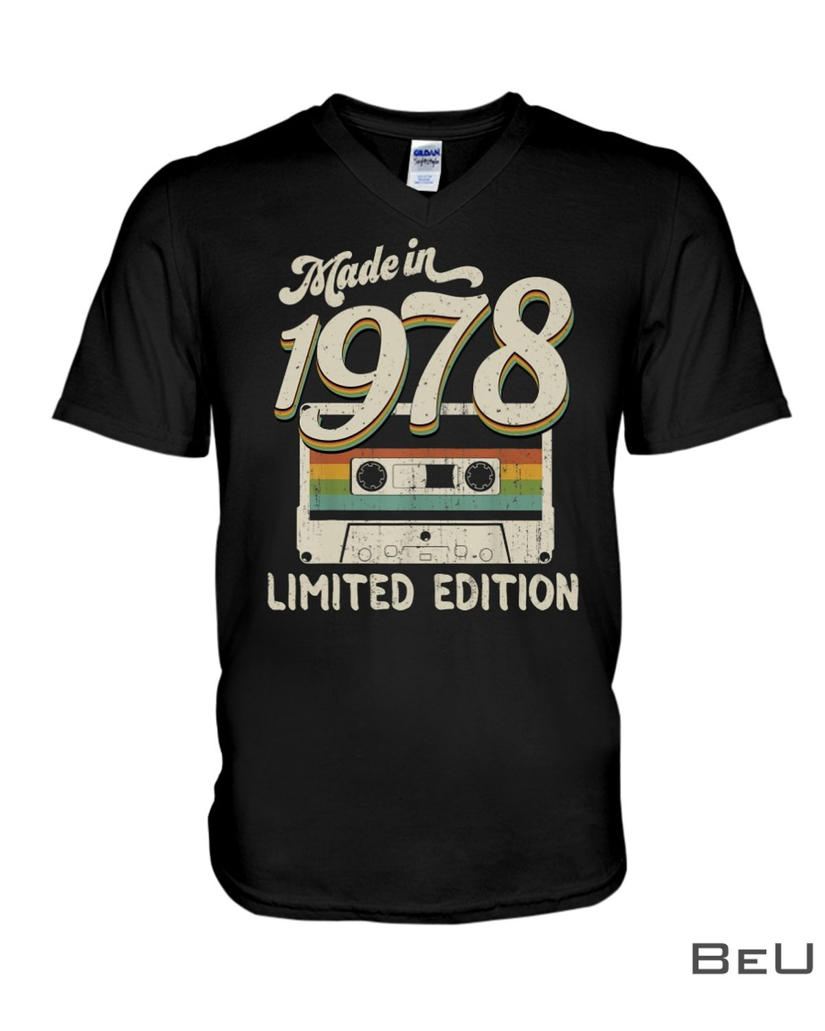 Made In 1978 Limited Edition Cassette Shirtx