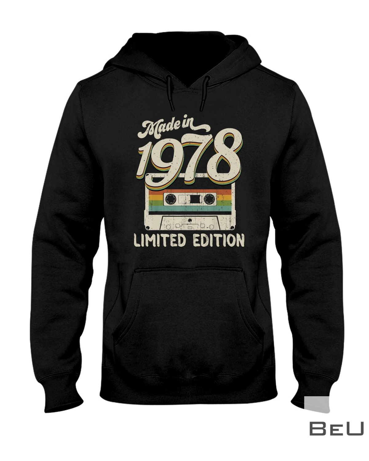 Made In 1978 Limited Edition Cassette Shirtz