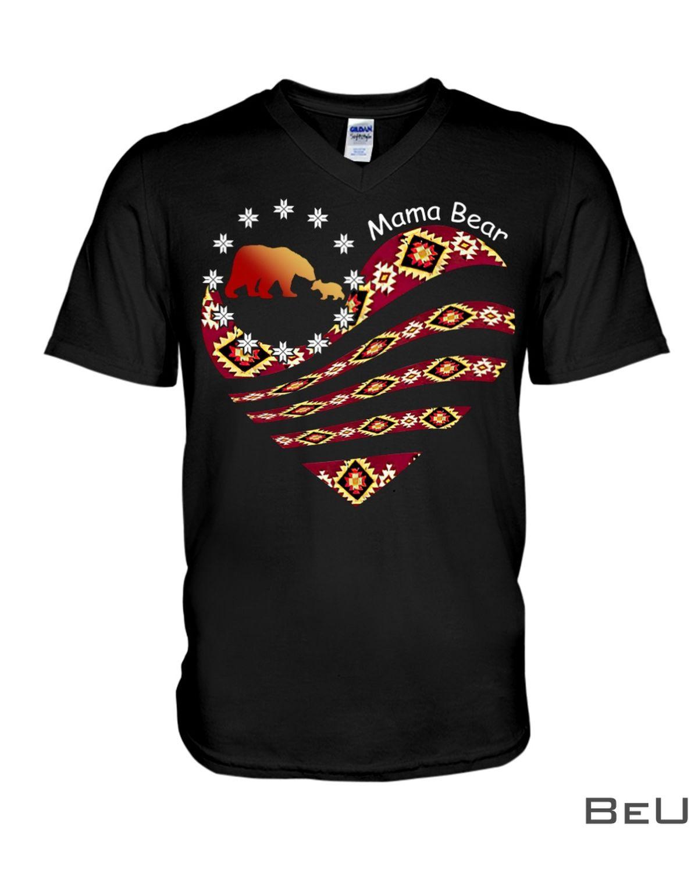 Mama Bear Native American Shirtx