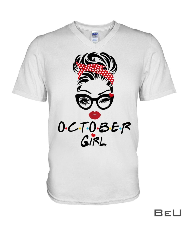 October Girl Wink Eye Shirtx
