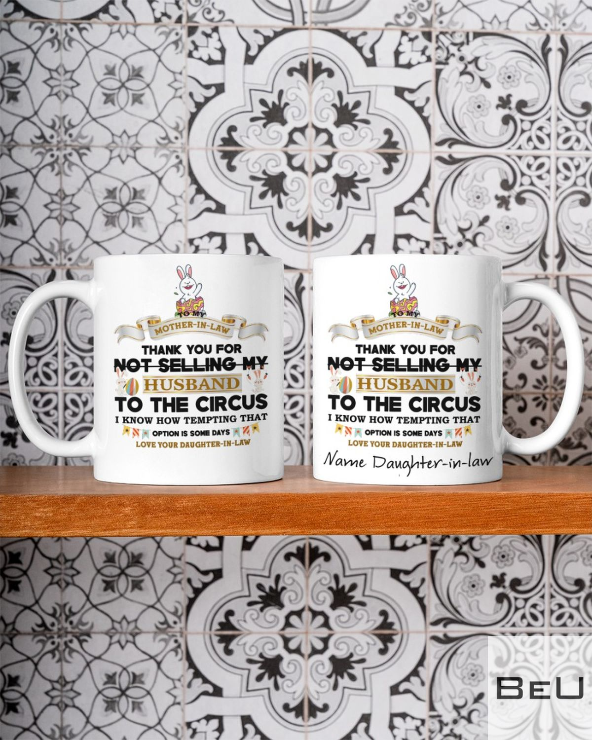 Personalized To My Mother In Law Mug Thank For Not Selling My Husband Mugc