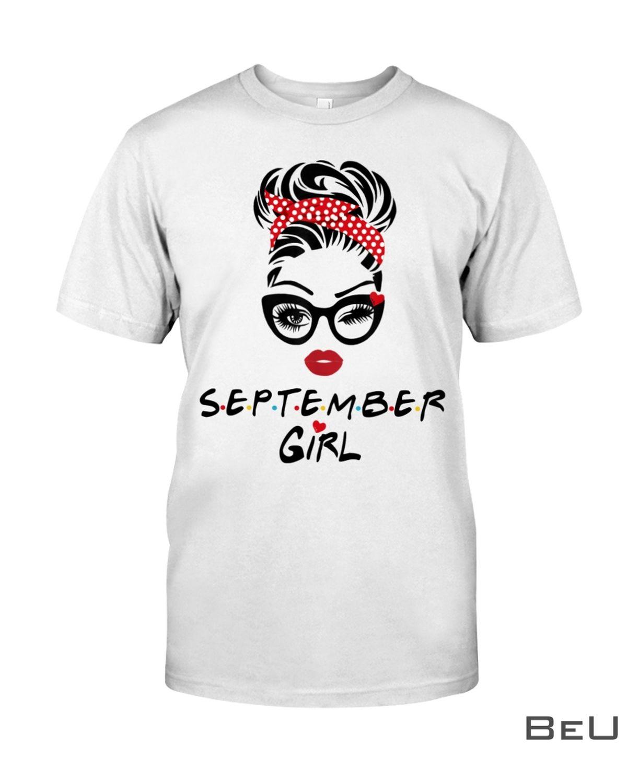 September Girl Wink Eye Shirt