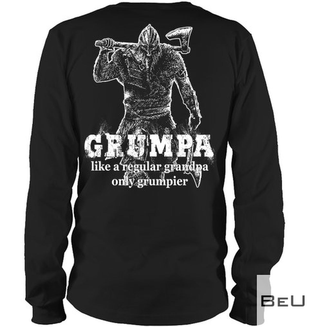 Viking Grumpa like a regular grandpa only grumpier shirtx