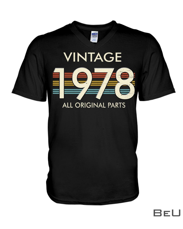 Vintage 1978 All Original Parts Shirtx
