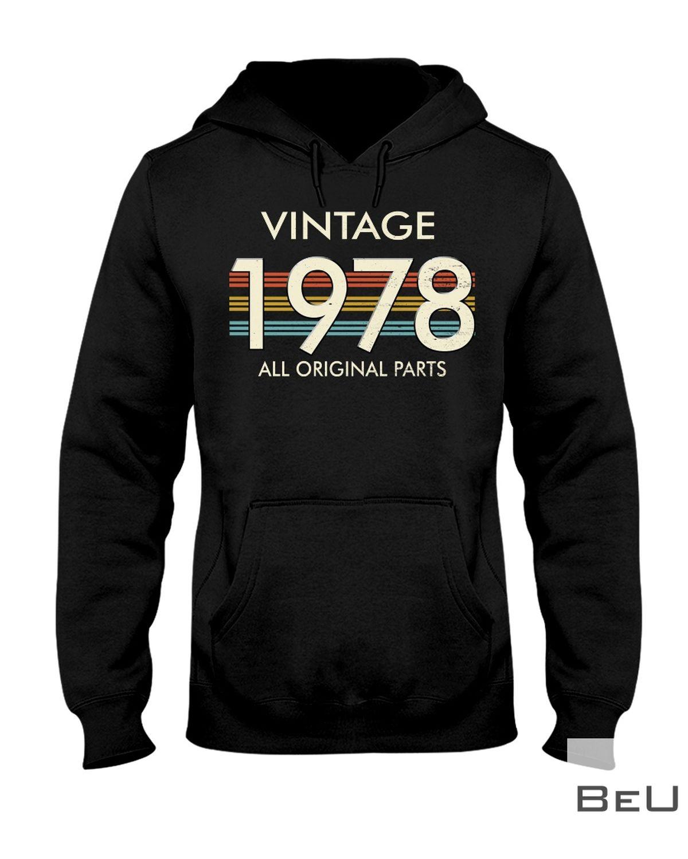 Vintage 1978 All Original Parts Shirtz