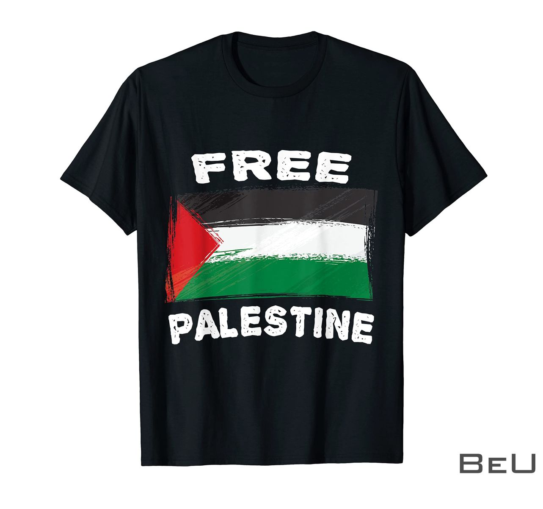 Free Palestine Flag I Love Palestine Gaza Palestinian Shirt