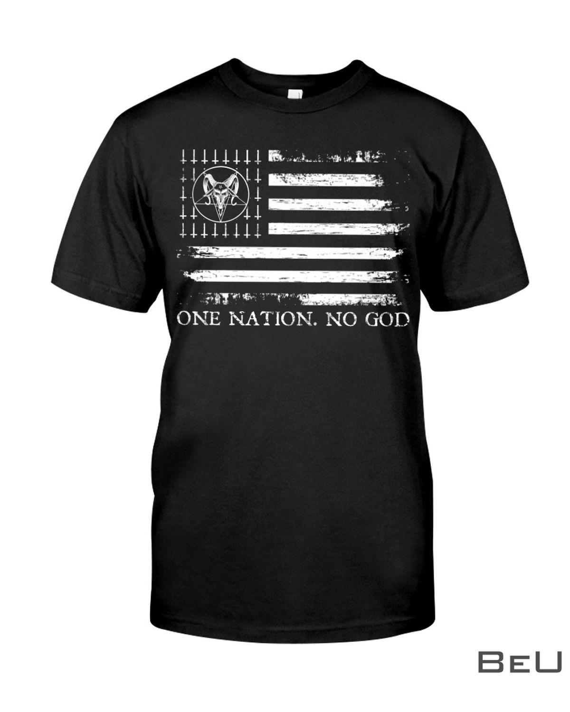 Satan One Nation No God Shirt