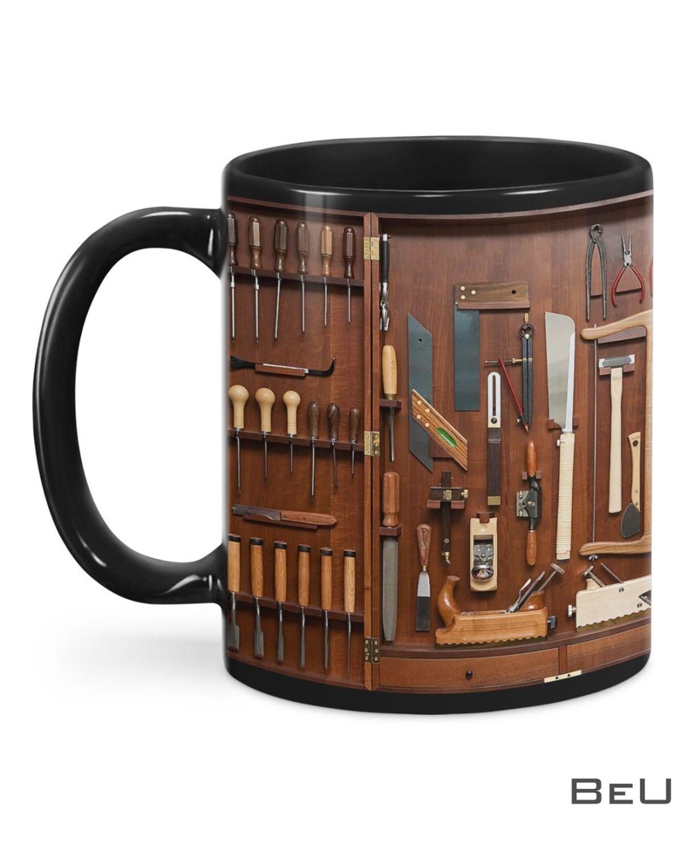Woodworking Carpenter Toolbox Mug