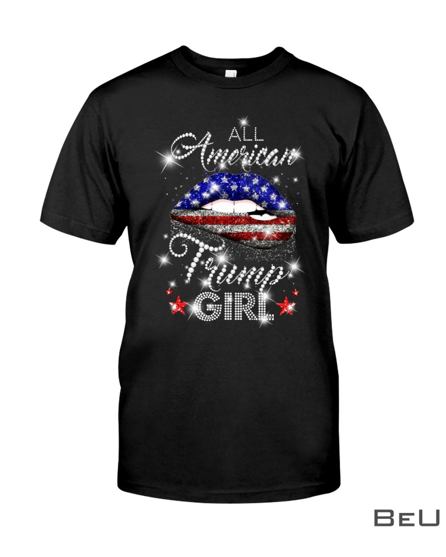 All American Trump Girl Shirt