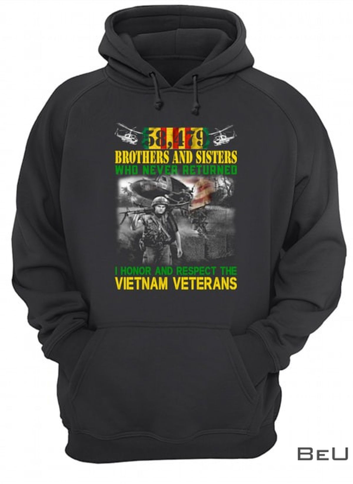 Brothers And Sisters Who Never Returned I Honor And Respect The Vietnam Veterans Shirtz