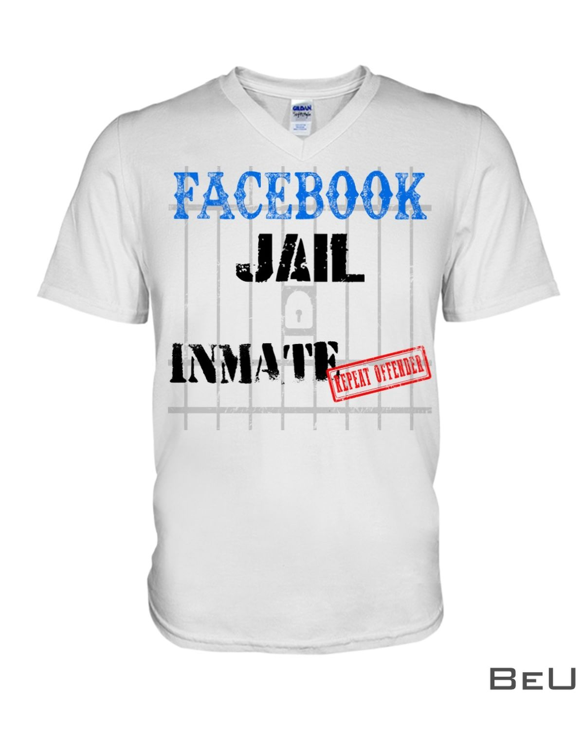 Facebook Jail Inmate Repeat Offender Shirtx