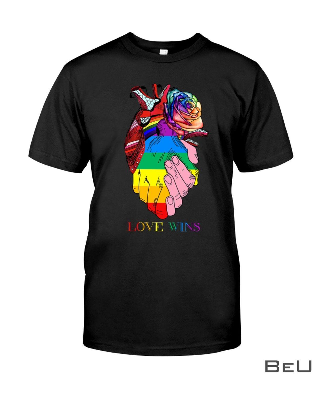 LGBT Heart Love Wins Shirt