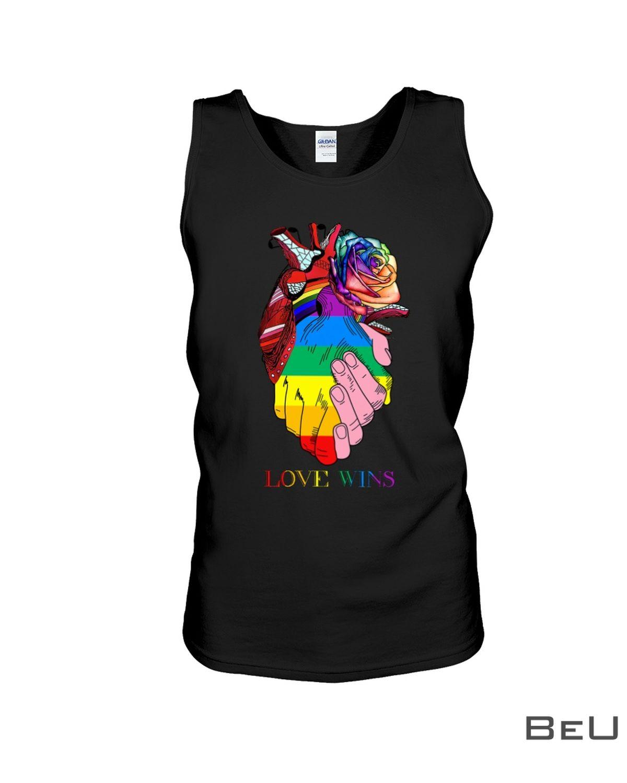 LGBT Heart Love Wins Shirtc