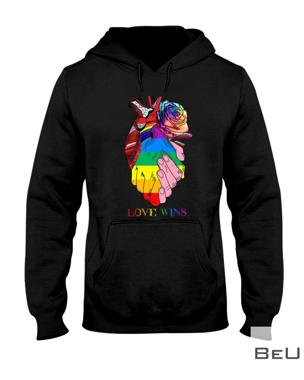 LGBT Heart Love Wins Shirtz