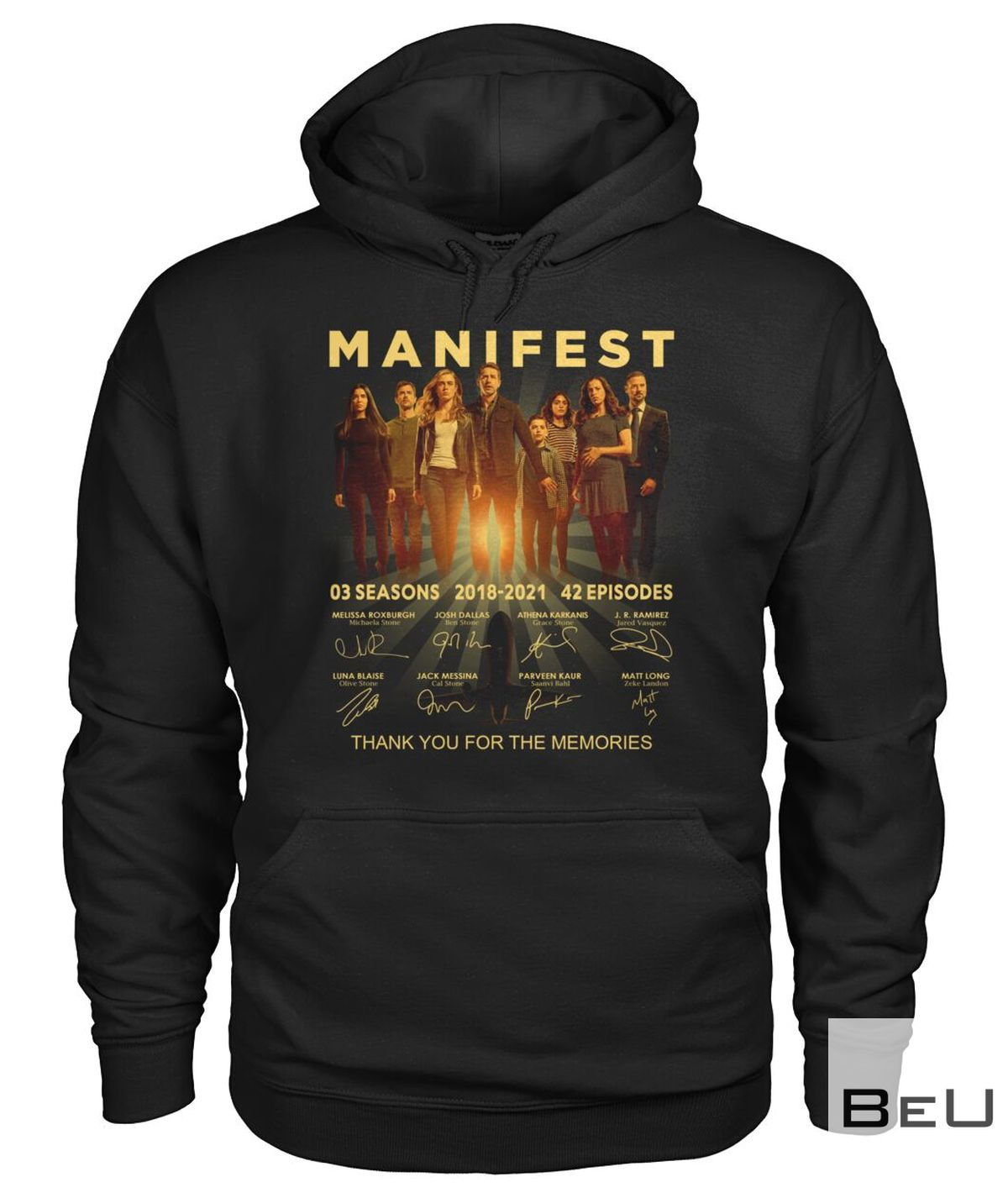 Manifest Thank You For The Memories Shirt c