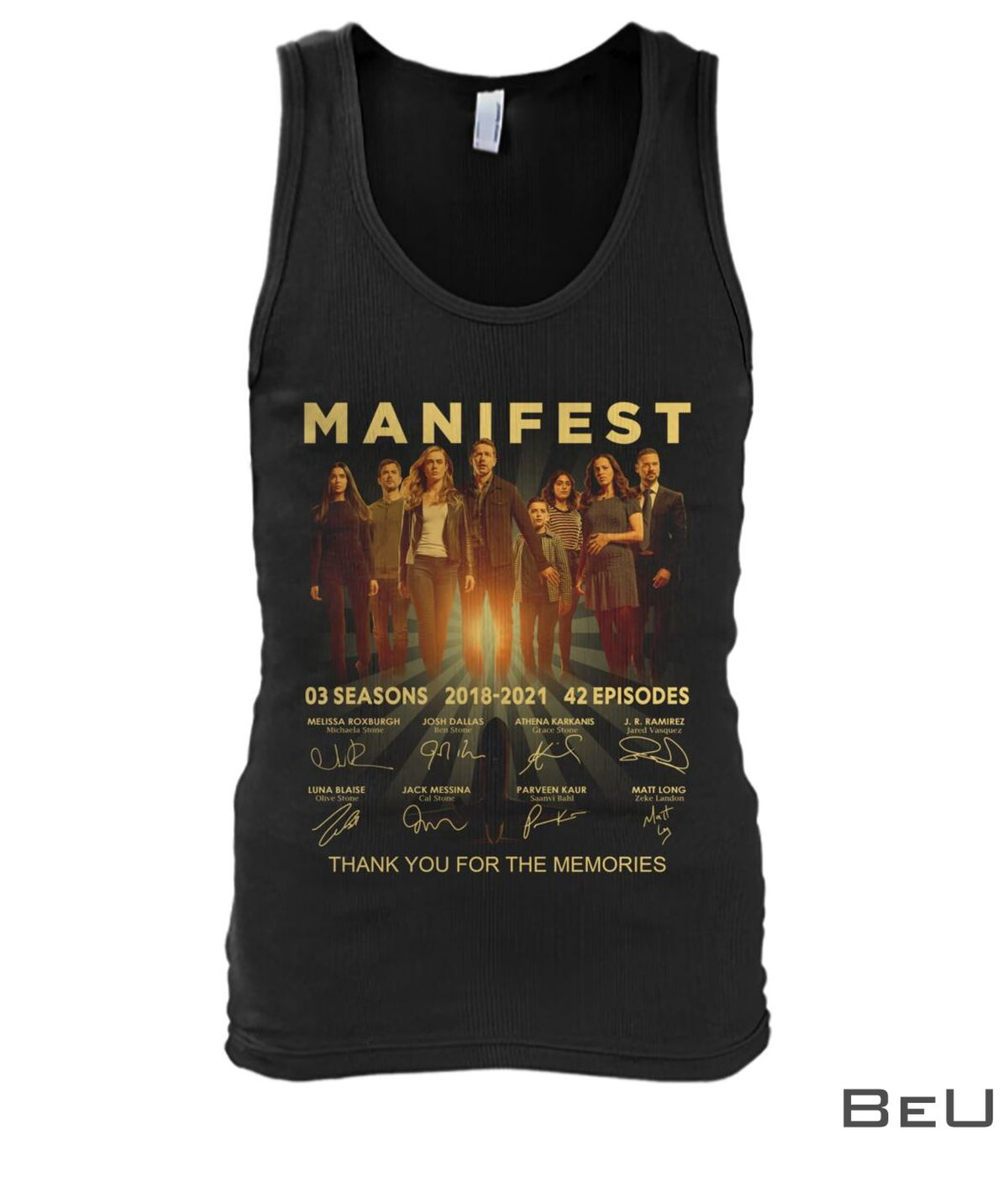 Manifest Thank You For The Memories Shirt x