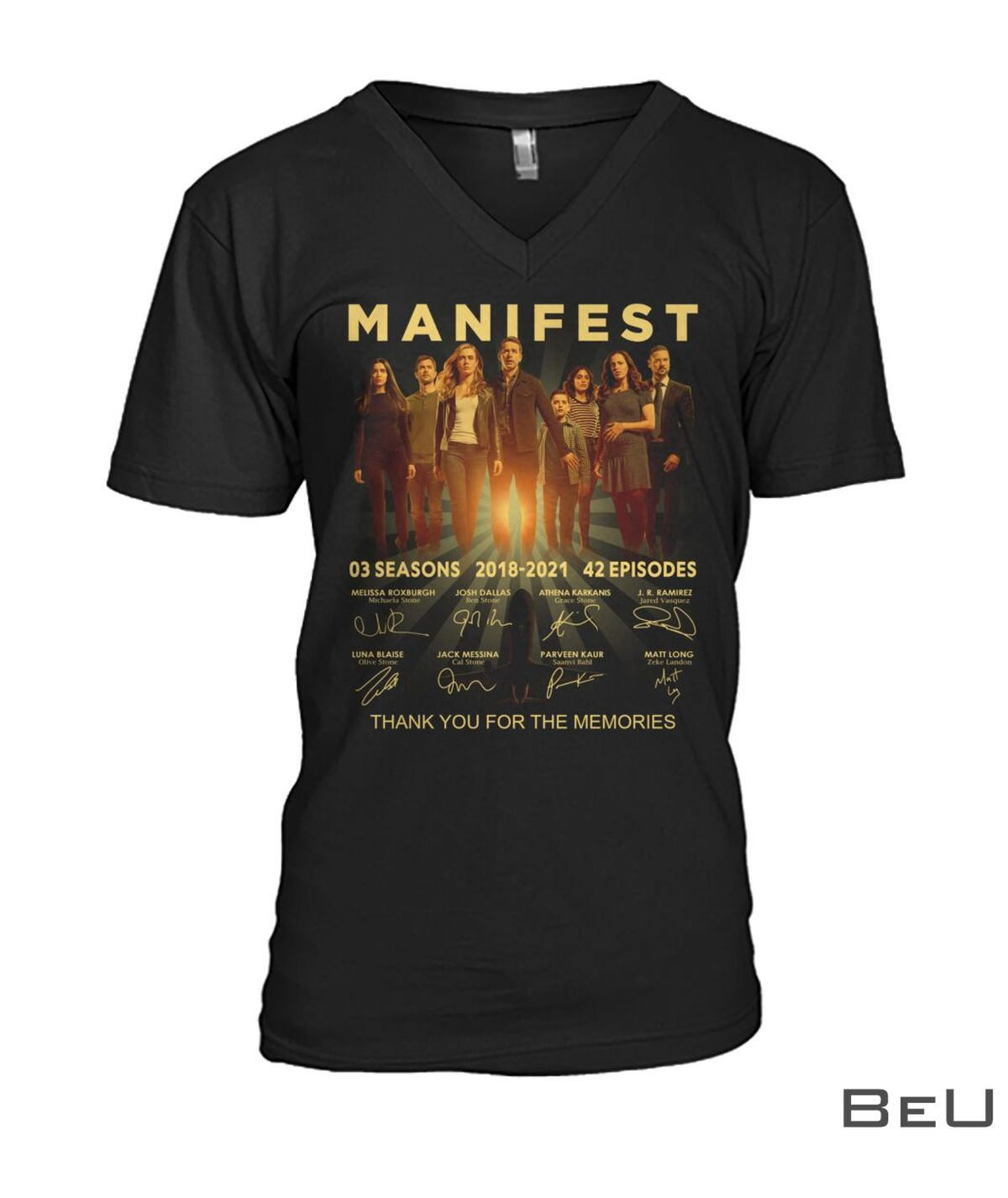 Manifest Thank You For The Memories Shirt z