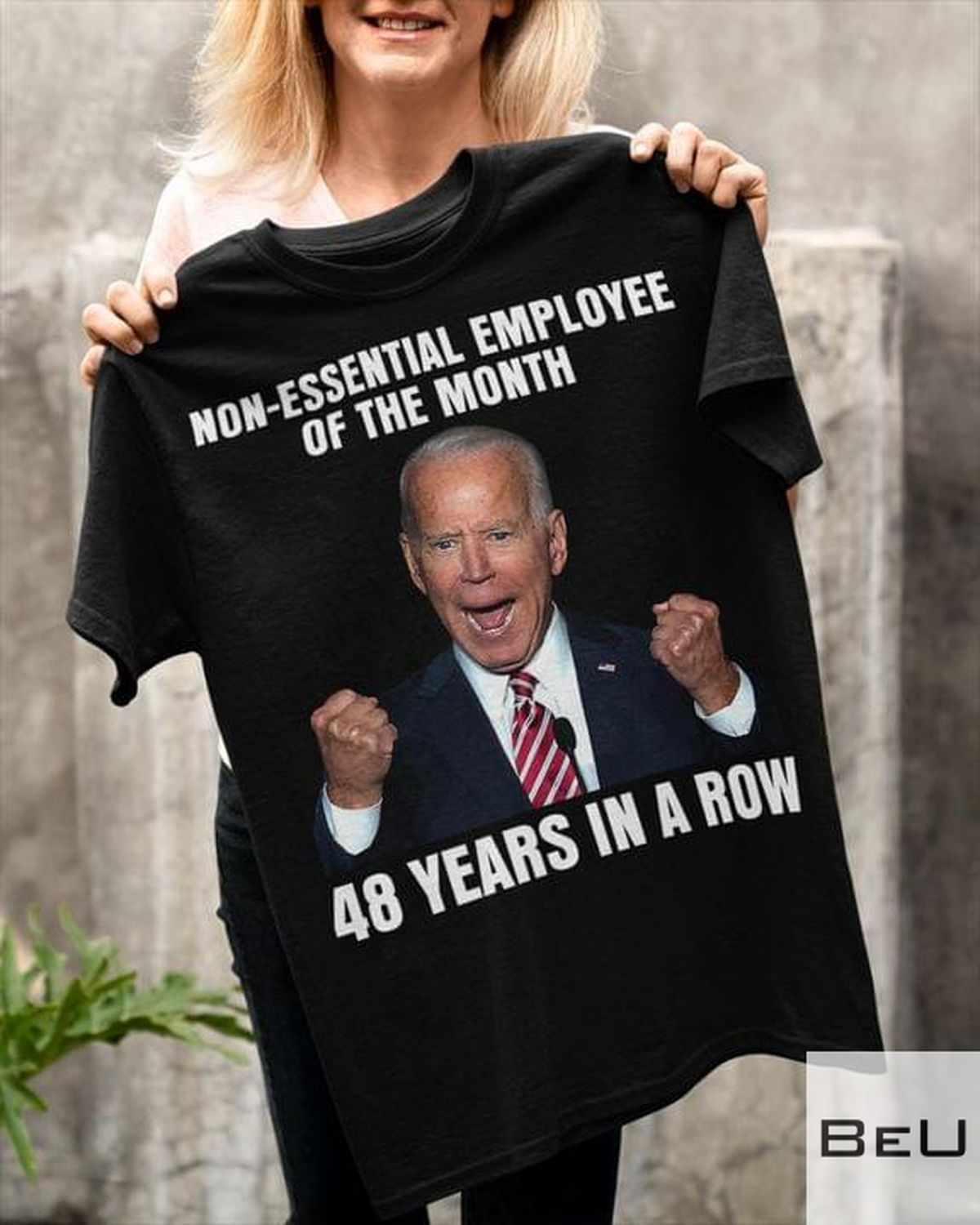 Non-Essential Employee Of The Month 48 Years In A Row Shirt v