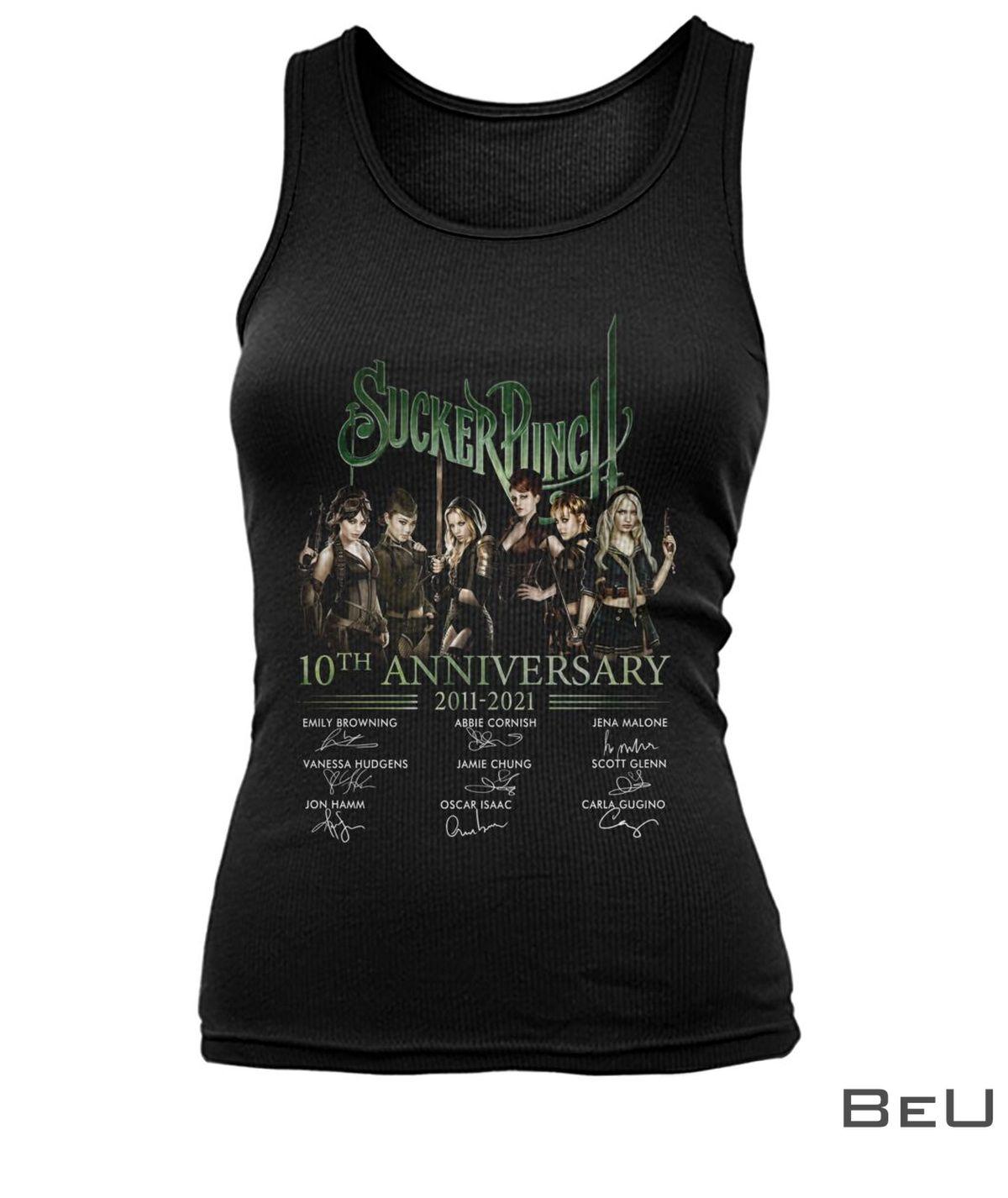 Sucker Punch 10th Anniversary 2011-2021 Shirt x