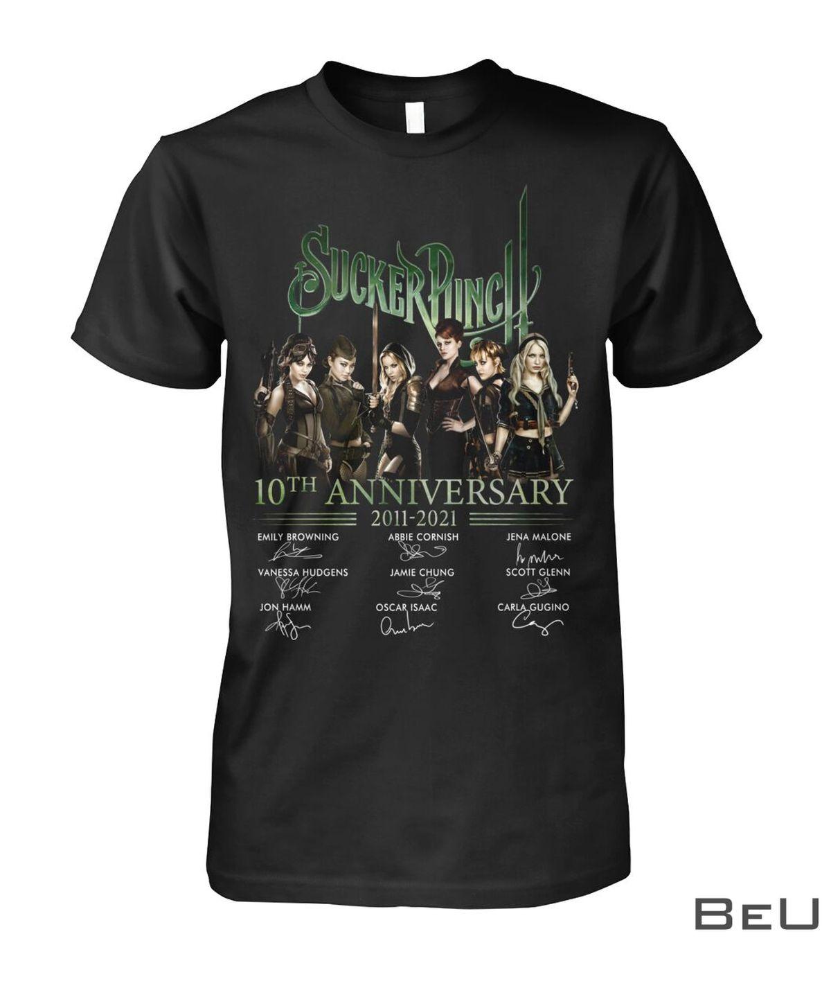 Sucker Punch 10th Anniversary 2011-2021 Shirt