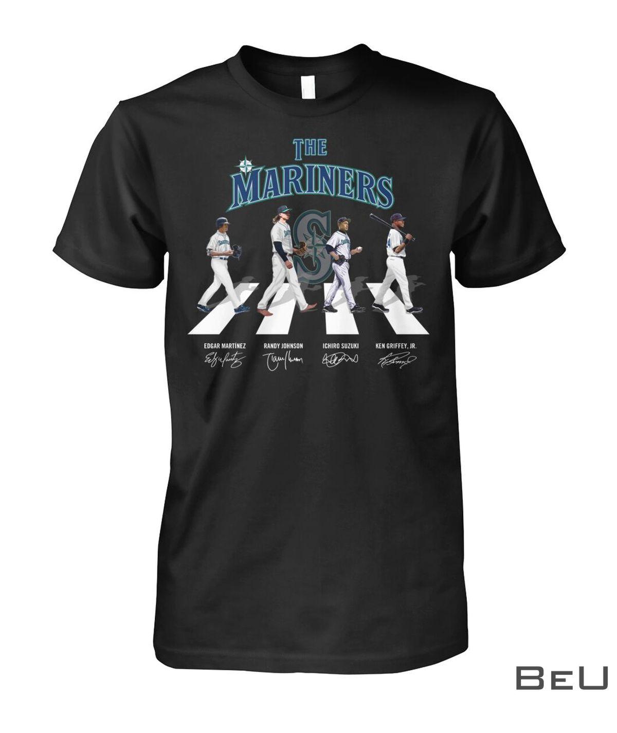 The Mariners Edgar Martinez Randy Johnson Ichiro Suzuki Ken Griffey Jr Shirt