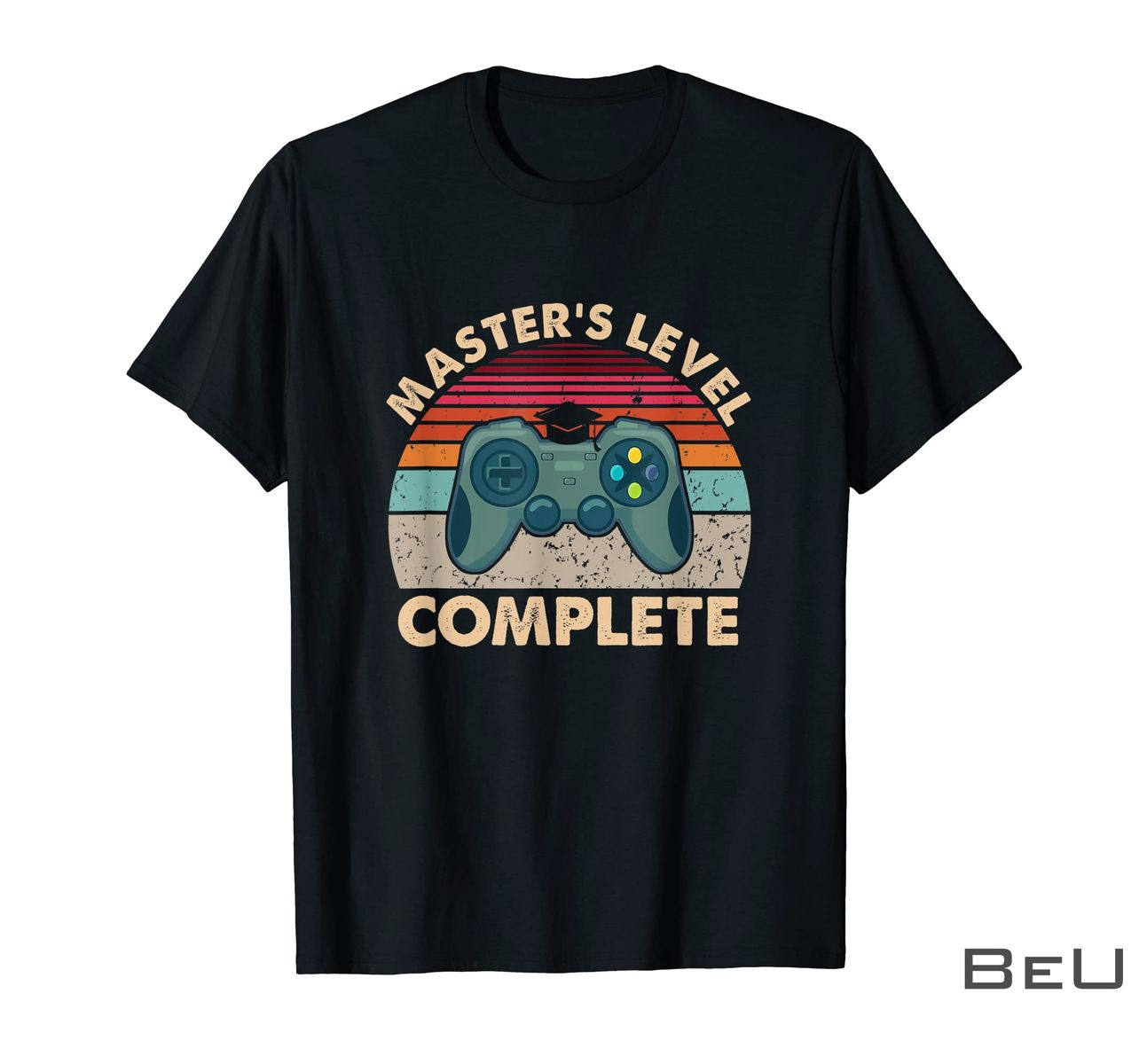 Video Game Master's Level Complete Shirt