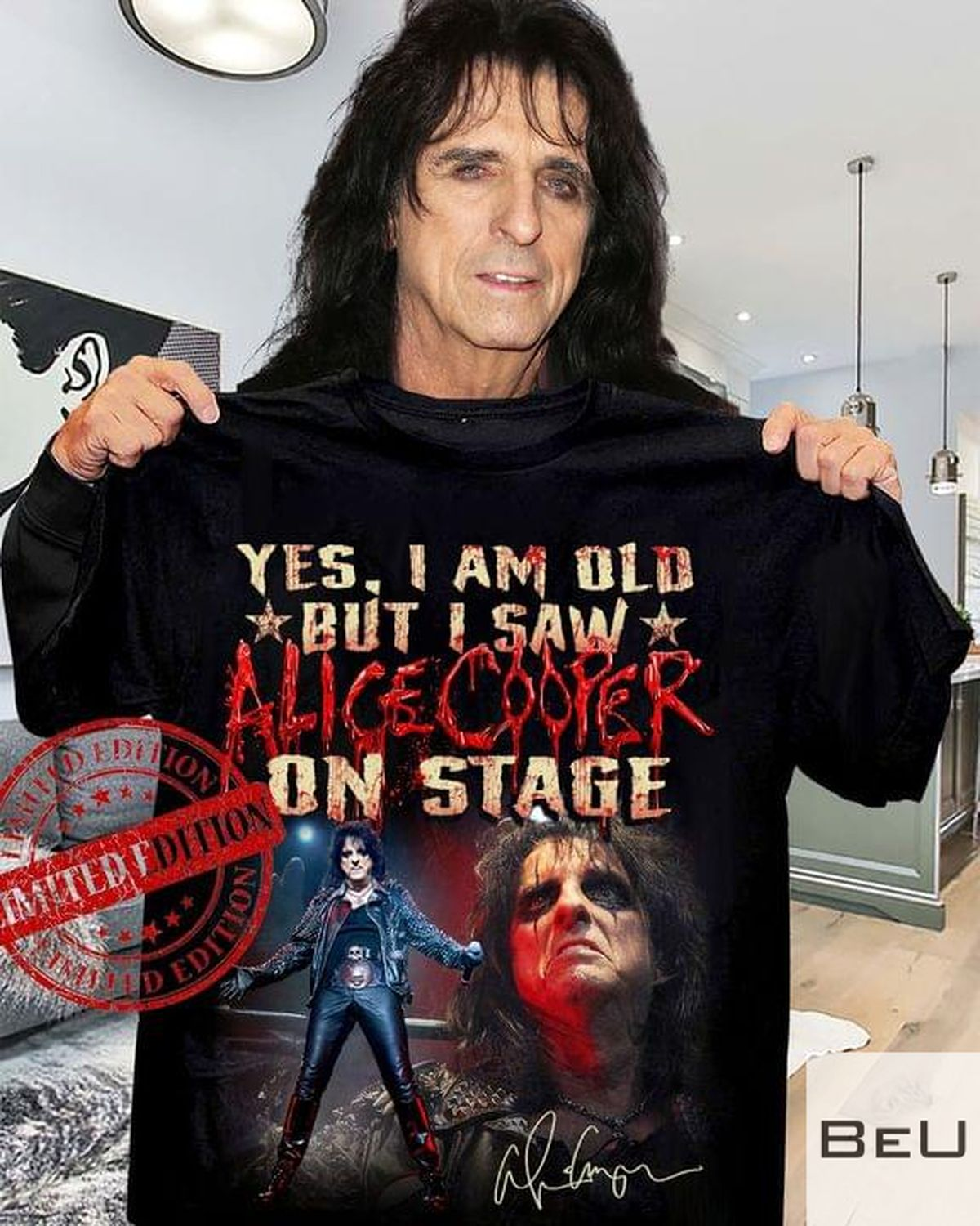 Yes I Am Old But I Saw Alice Cooper On Stage Shirtv