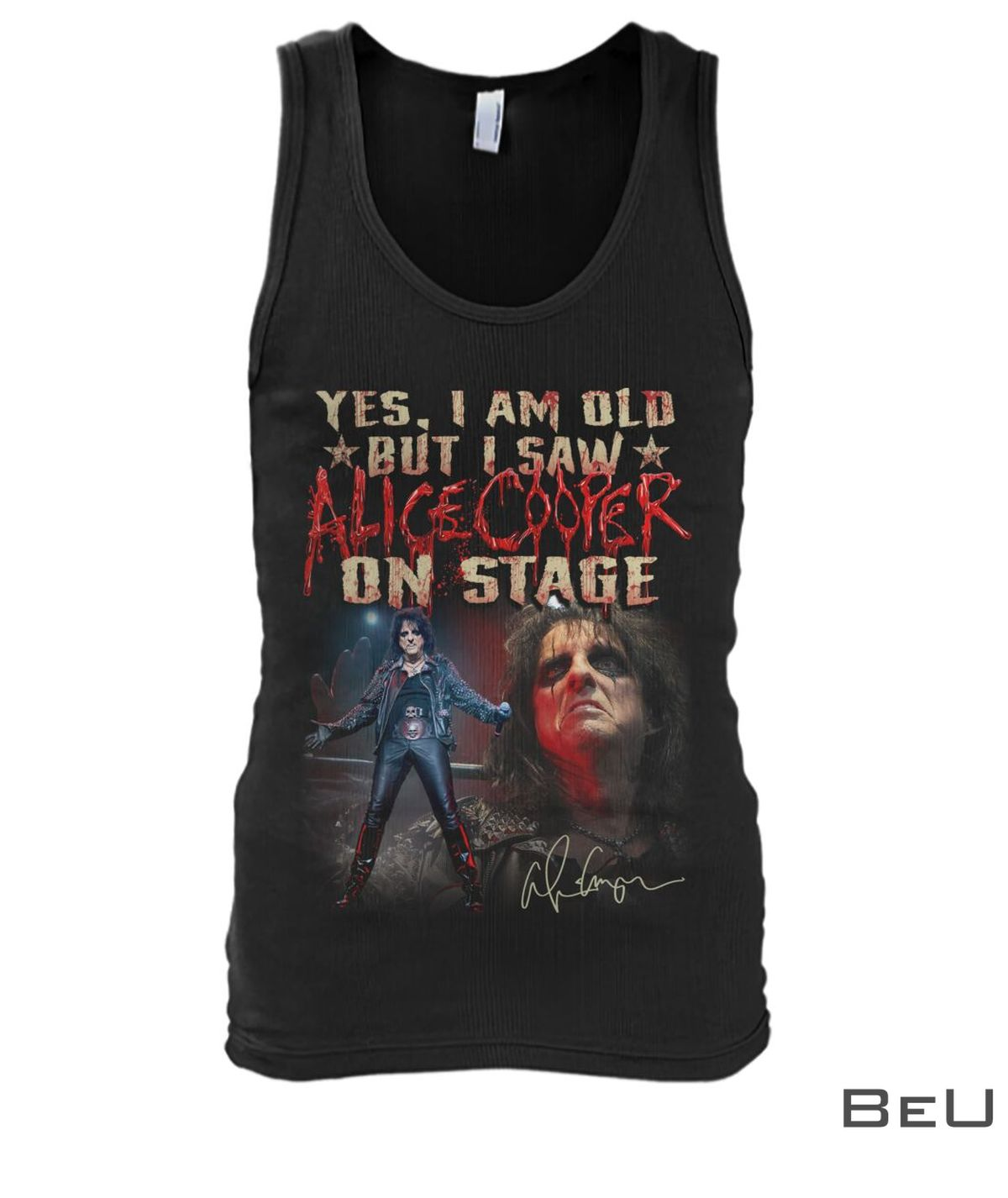 Yes I Am Old But I Saw Alice Cooper On Stage Shirtx
