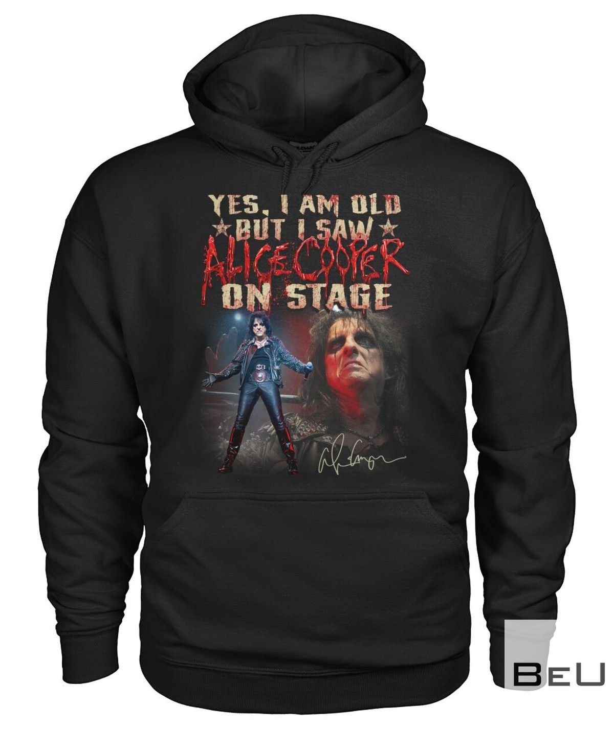 Yes I Am Old But I Saw Alice Cooper On Stage Shirtz