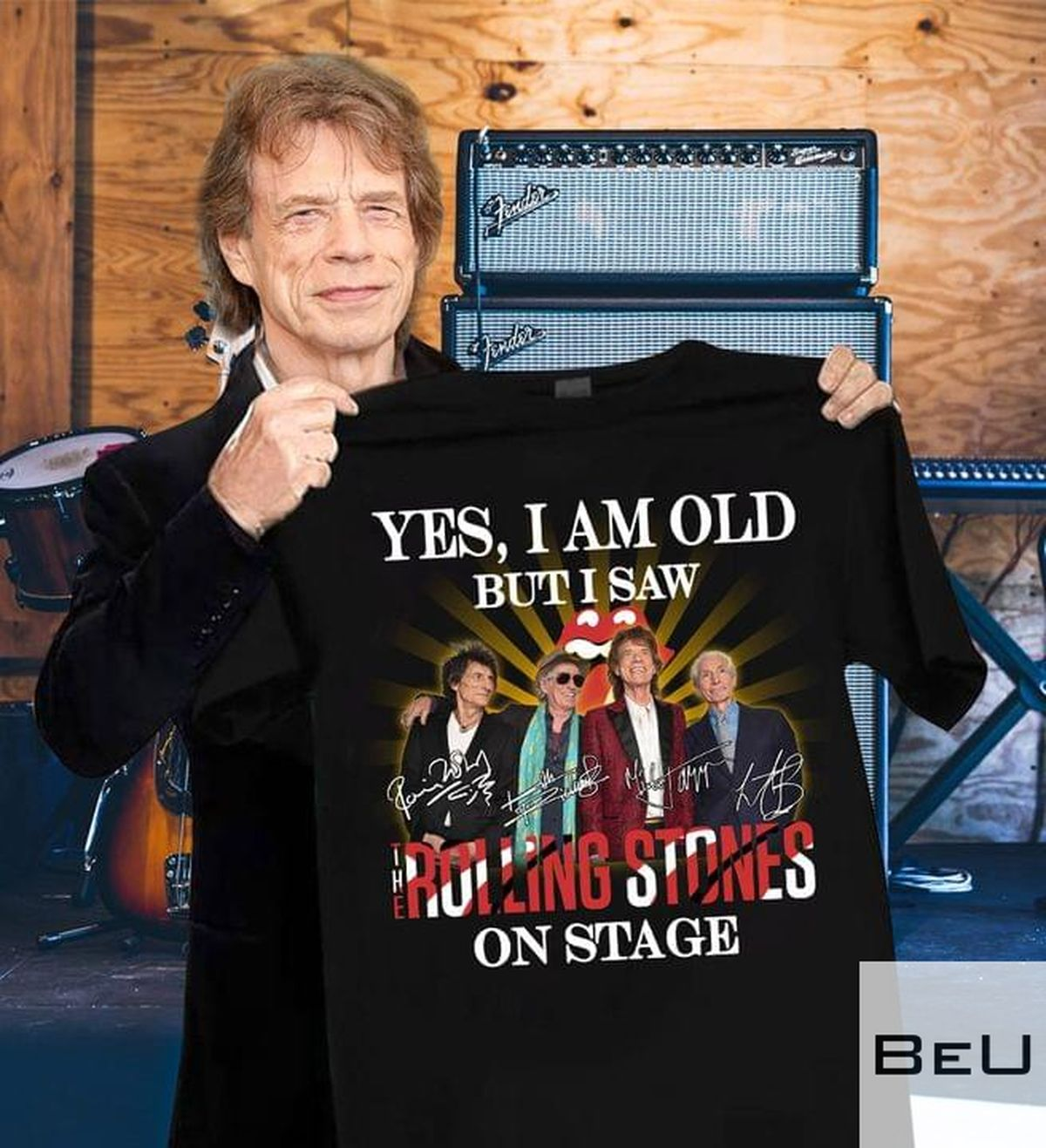 Yes I Am Old But I Saw Rolling Stones On Stage Shirt