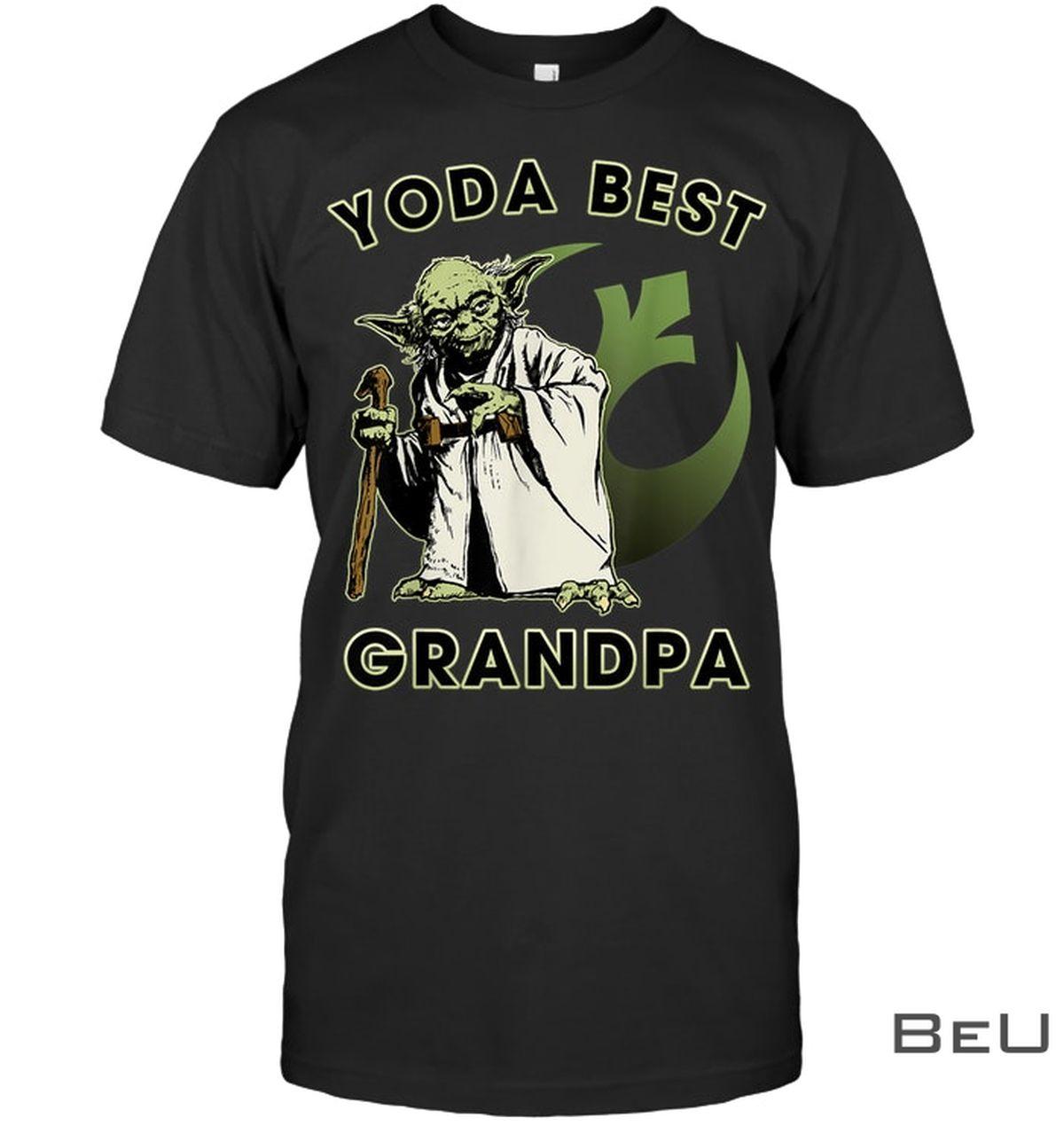 Yoda Best Grandpa Shirt