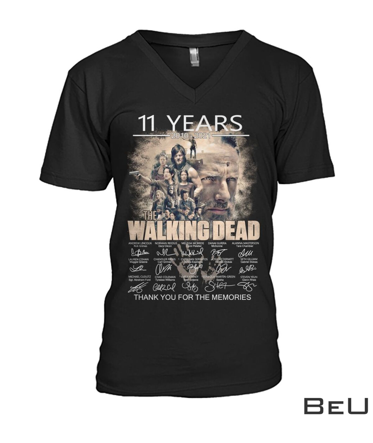 11 Years 2010 2021 The Walking Dead Thank You For The Memories Shirt c