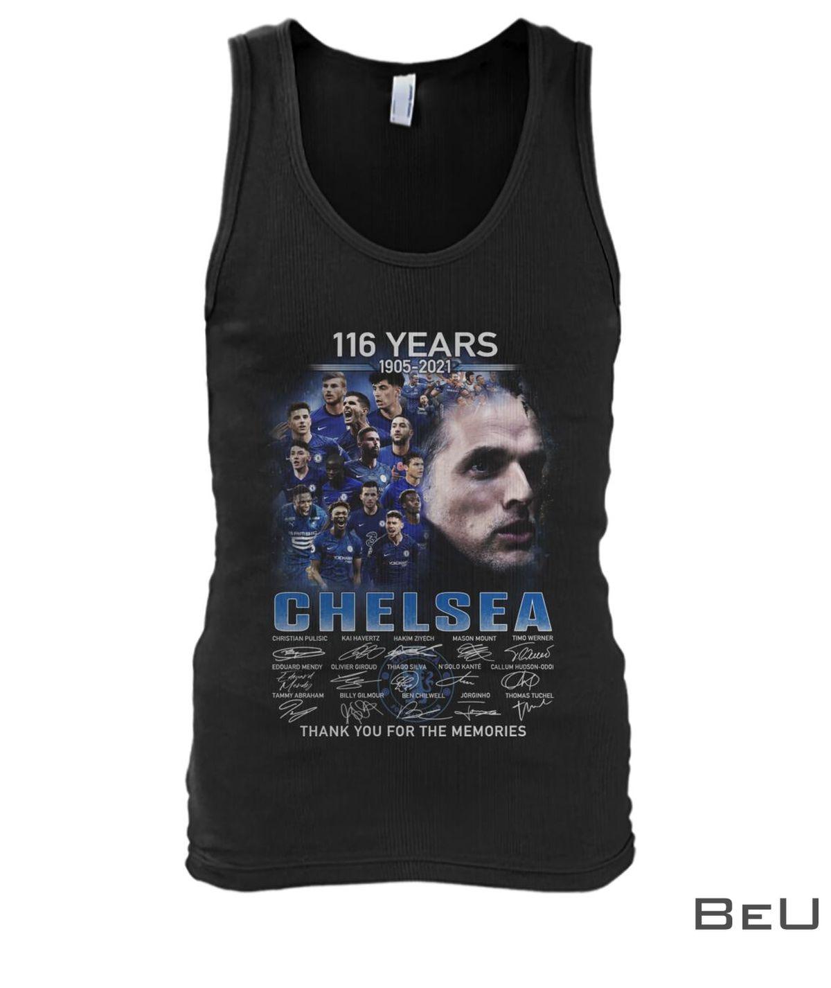116 Years 1905-2021 Chelsea Shirtz
