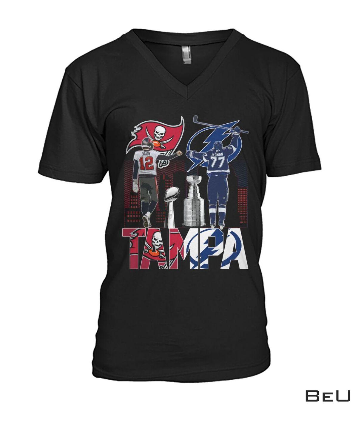 12 Brady 77 Hedman Tampa Shirtc