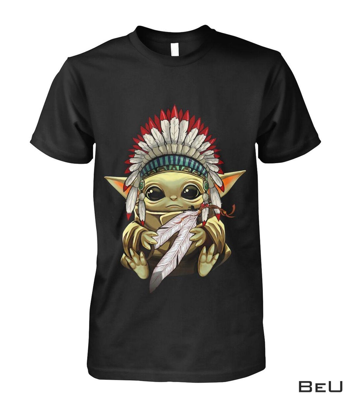 Baby Yoda Native America Shirt