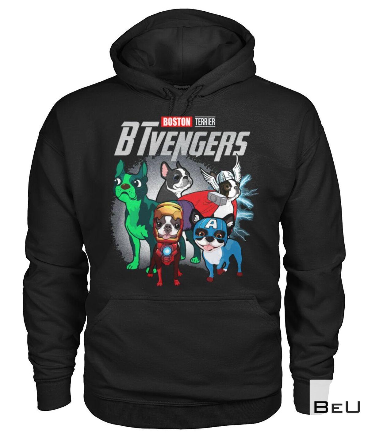 Boston Terrier BTvengers Avengers Shirtz