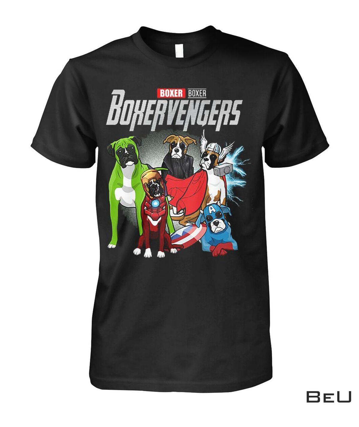 Boxer Boxervengers Avengers Shirt