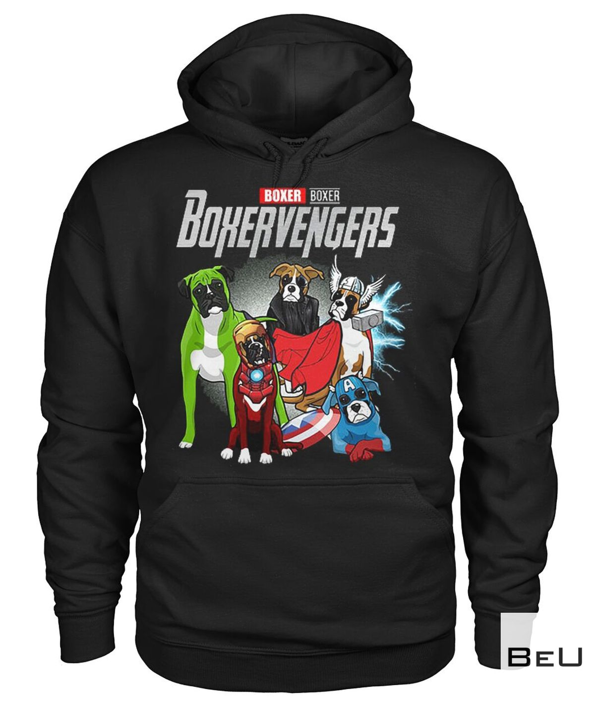 Boxer Boxervengers Avengers Shirtz