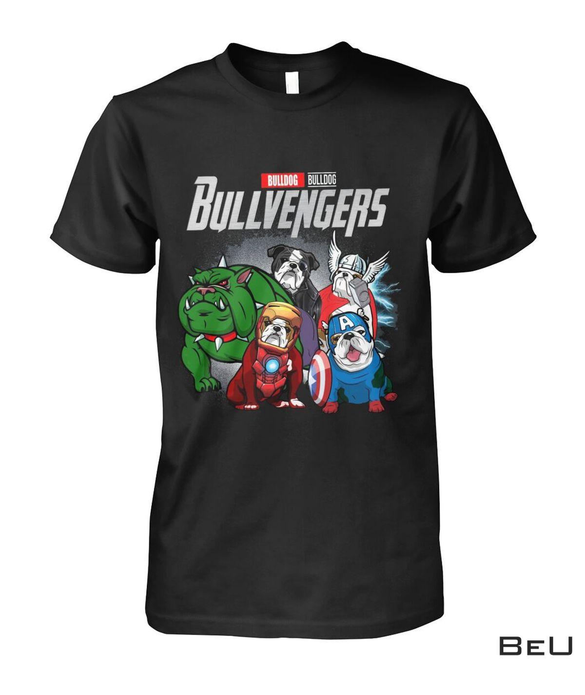 Bull Dog Bullvengers Avengers Shirt