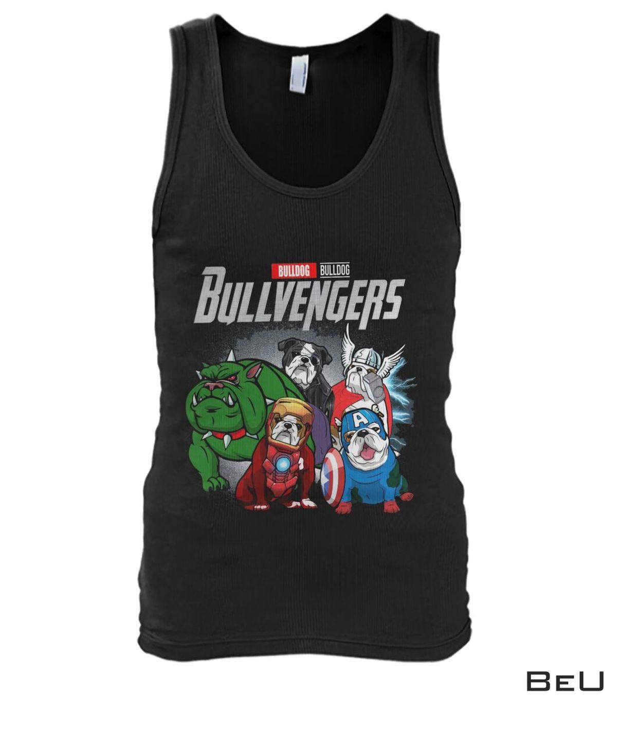 Bull Dog Bullvengers Avengers Shirtx