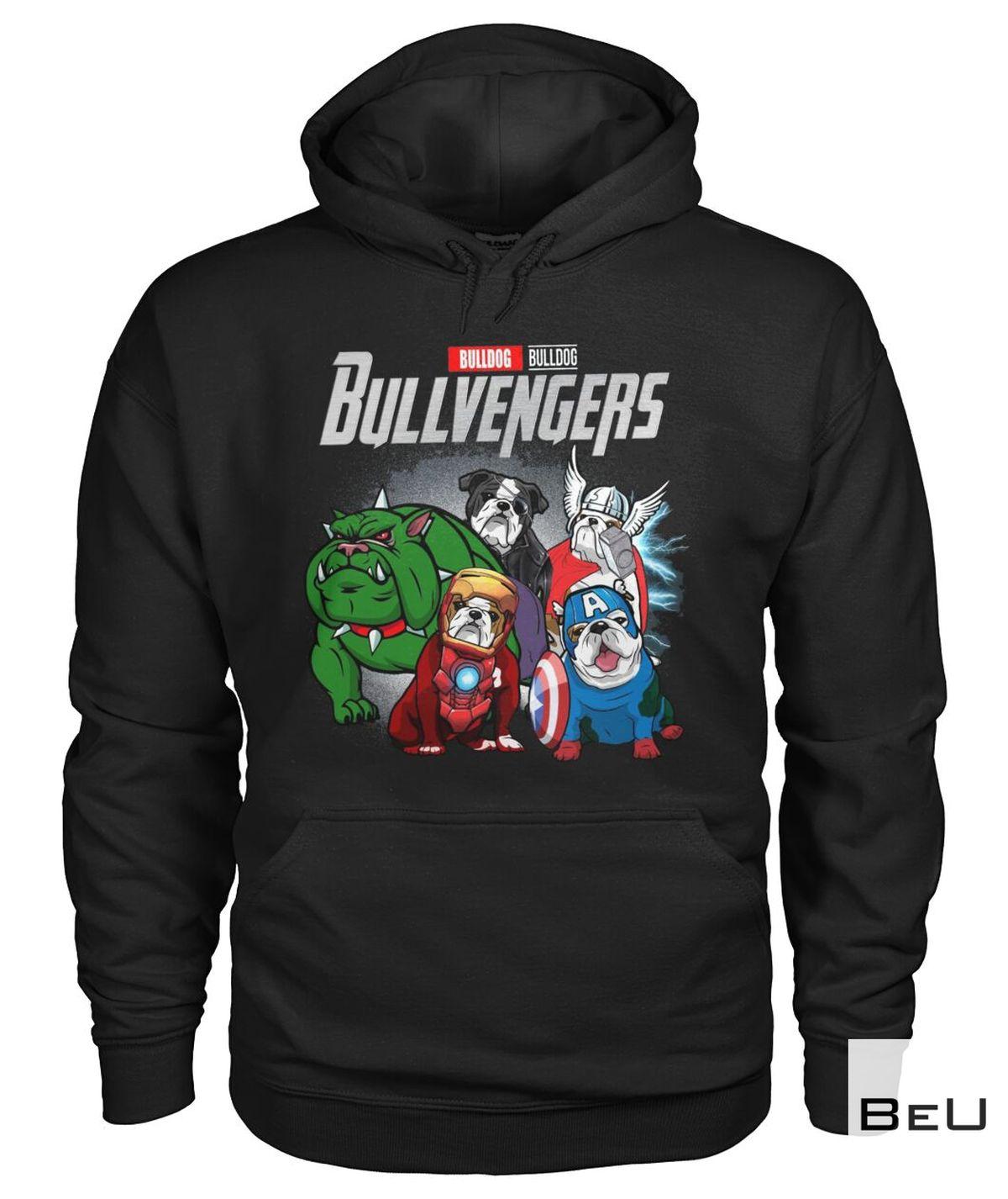 Bull Dog Bullvengers Avengers Shirtz
