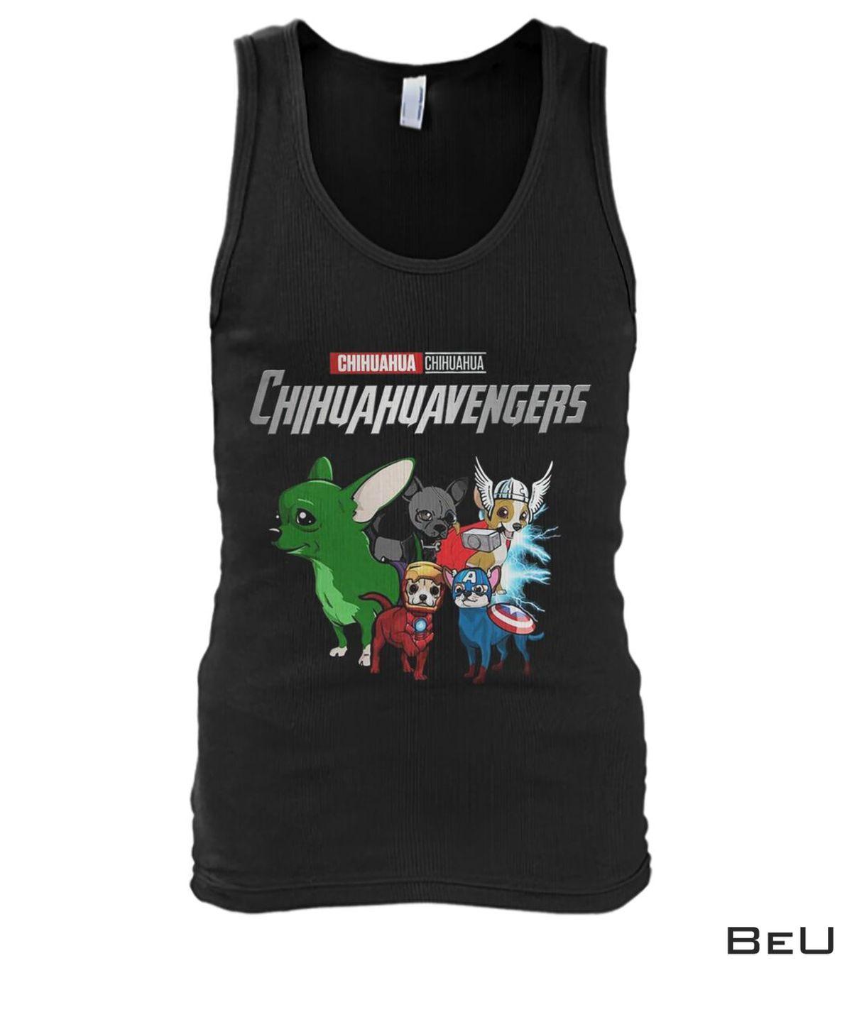 Chihuahua Chihuahuavengers Avengers Shirtx