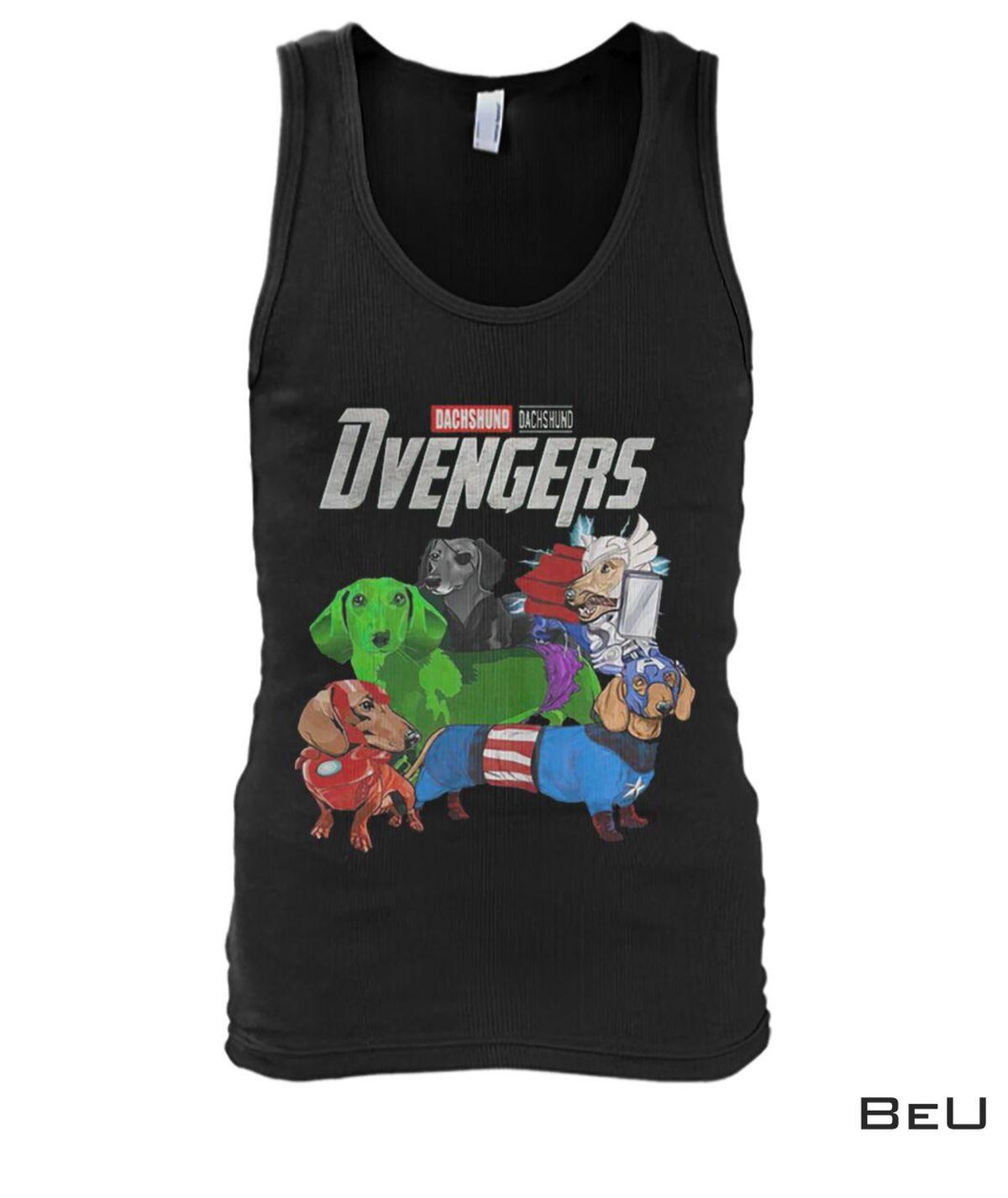 Dachshund Dvengers Avengers Shirtx
