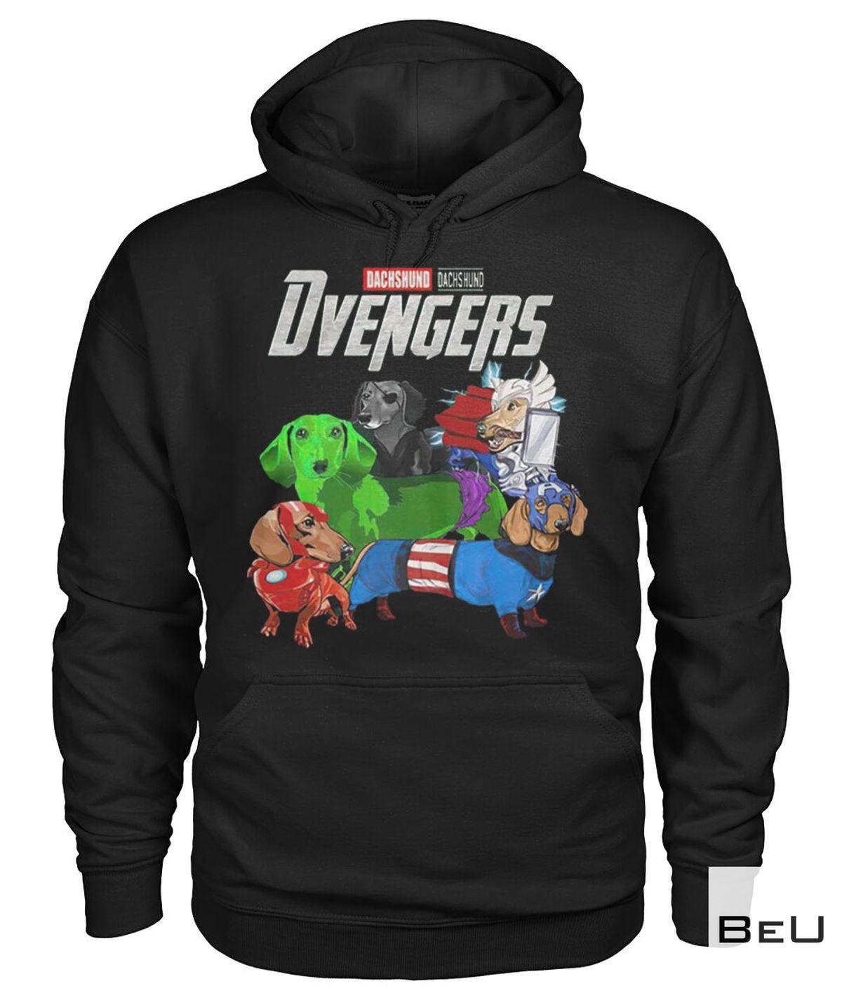 Dachshund Dvengers Avengers Shirtz