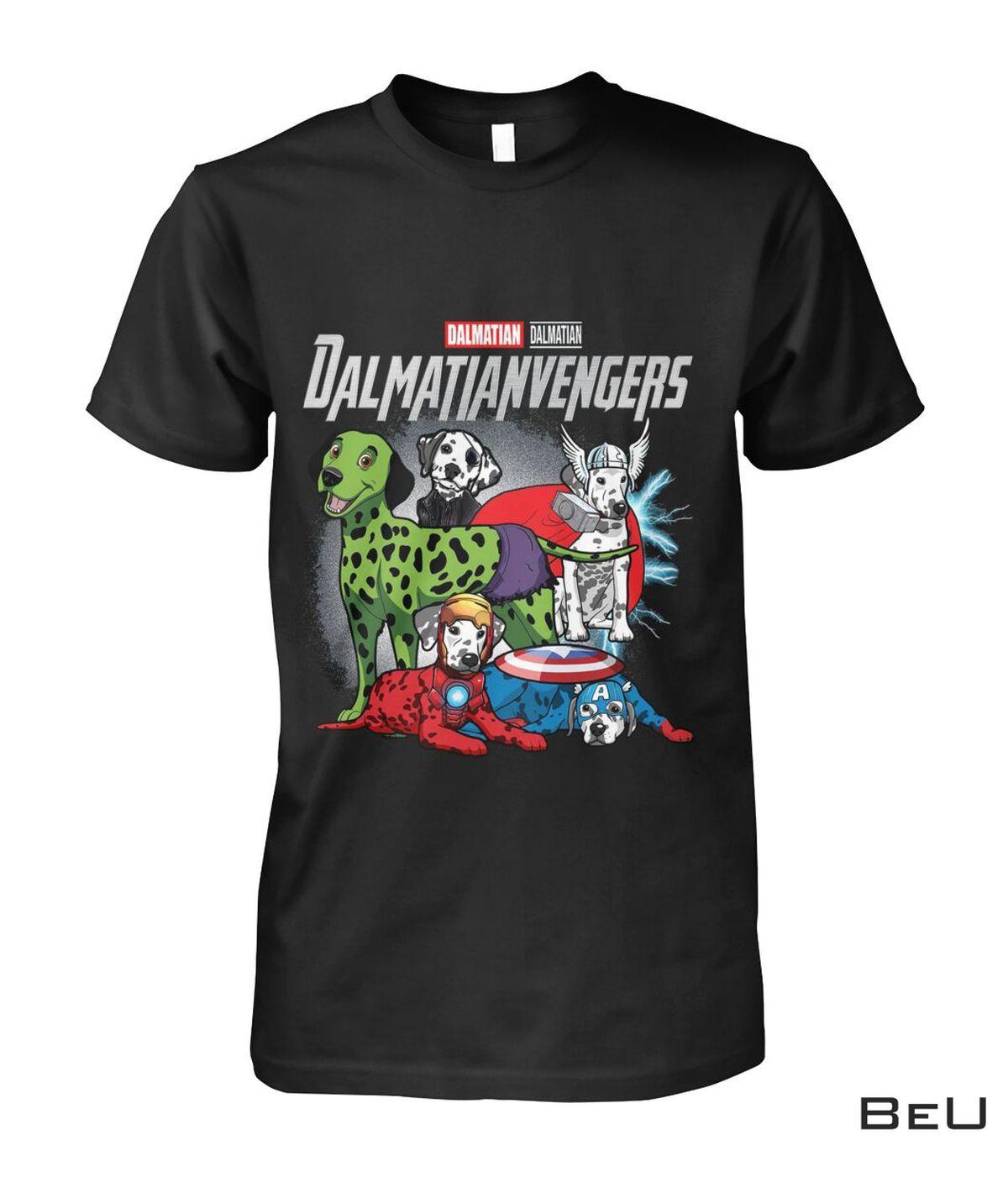 Dalmatian Dalmatianvengers Avengers Shirt