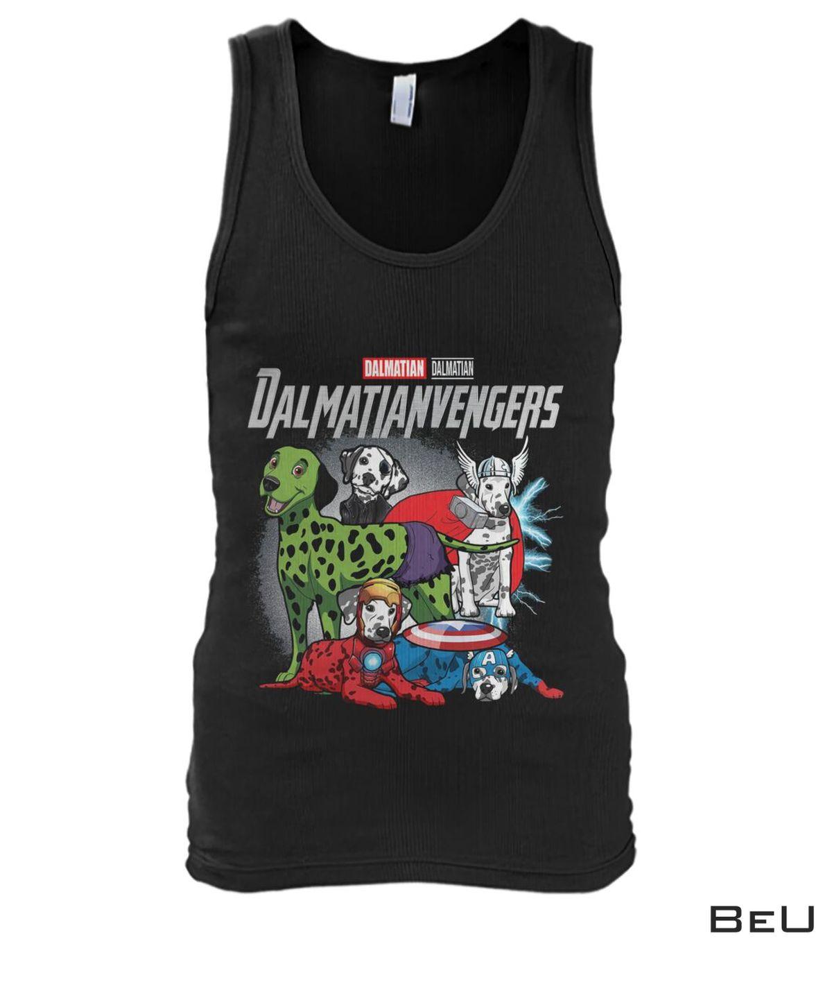 Dalmatian Dalmatianvengers Avengers Shirtx