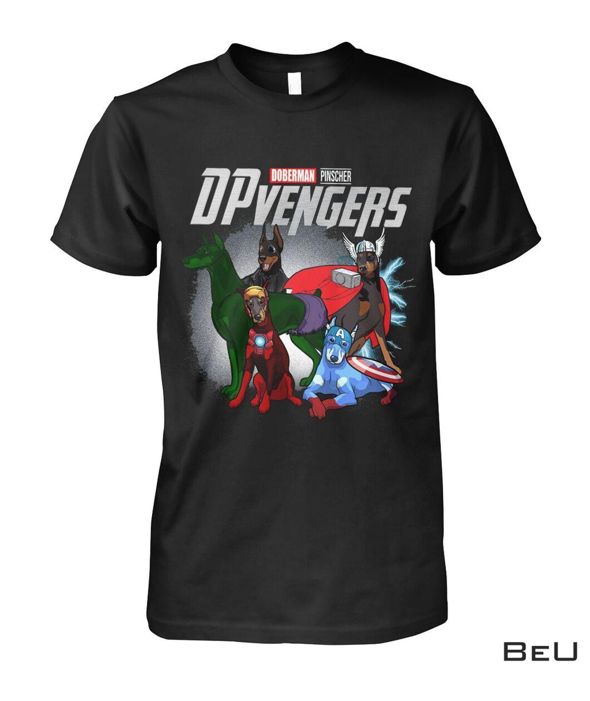 Doberman DPvengers Avengers Shirt