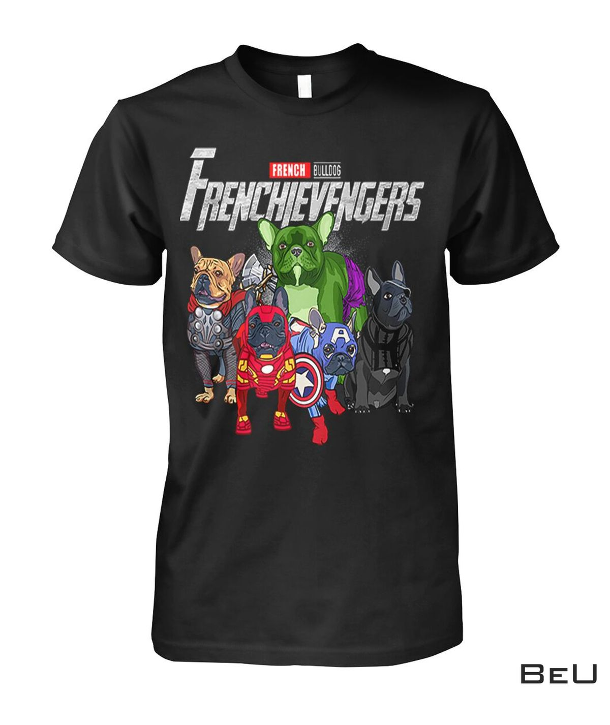 French Bulldog Frenchievengers Avengers Shirt