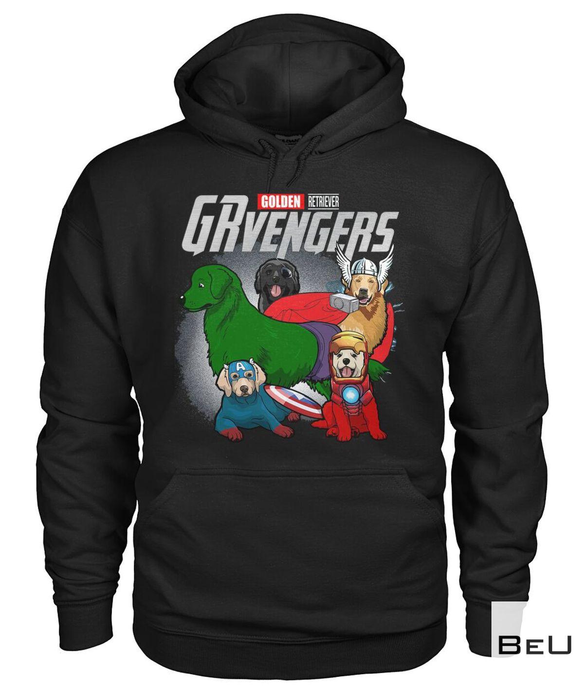 Golden Retriever GRvengers Avengers Shirtz