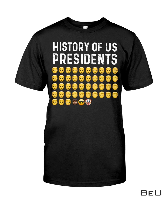 History Of Us Presidents Clown Shirt